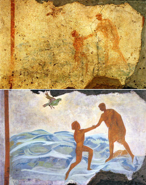 Christian art from the Roman catacombs