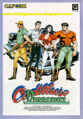 Download Free Cadillacs AND Dinosaurs Game For PC