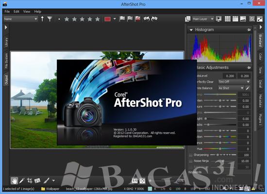 Corel AfterShot Pro 1.1.0.30 Full Serial 2