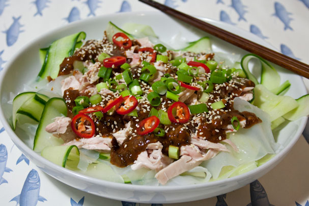 ... ban ji recipes cold chicken with a spicy sichuanese sauce liang ban ji