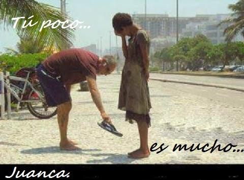 TU POCO ES MUCHO...