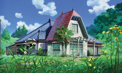 The house in My Neighbor Totoro 1988 animatedfilmreviews.blogspot.com