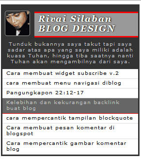 widget random post with admin profil