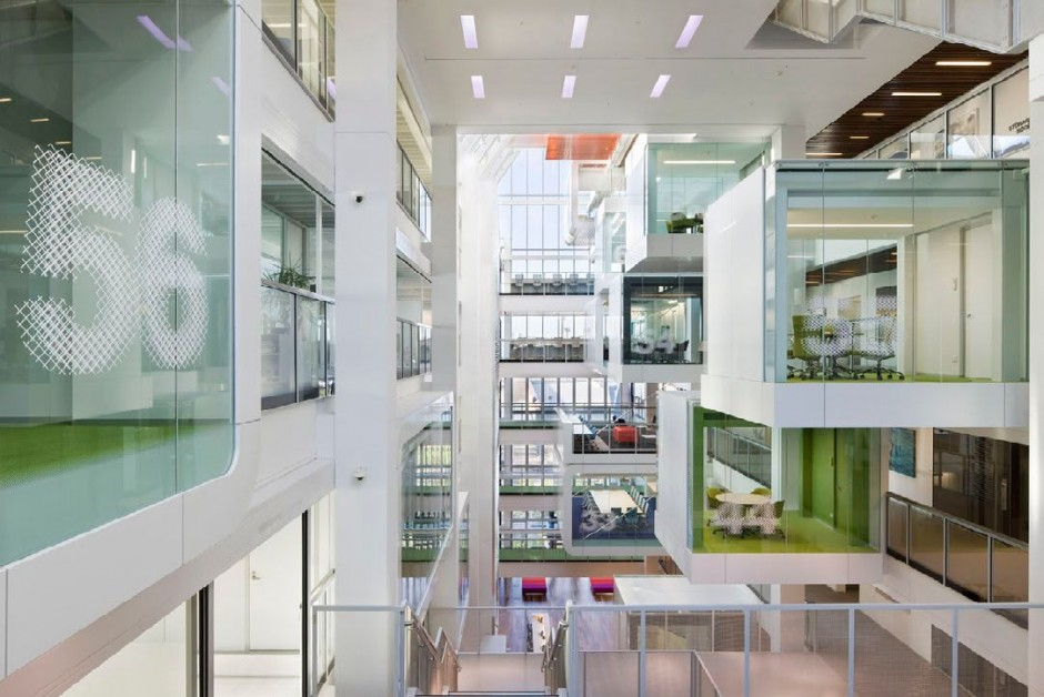 One Shelley Street Office Interior : By Clive Wilkinson ...