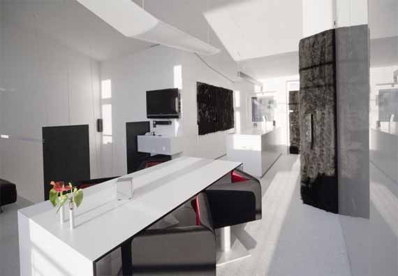 modern interior office. Home Design Furniture Modern Office Interior