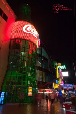 Las Vegas Nevada, Coke-A-Cola, Las Vegas Strip at night, New Braunfels photographer