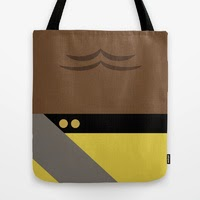 Worf - Star Trek: The Next Generation Tote Bags