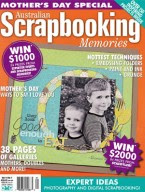 My Cover:  Scrapbook Memories