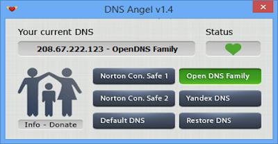 حجب المواقع الإباحية Dns Angel