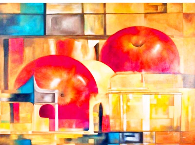 Cuadros pinturas oleos arte bodegones modernos - Cuadros bodegones modernos ...