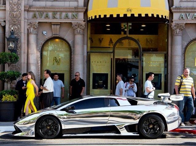 Chrome  Lamborghini Murcielago LP640