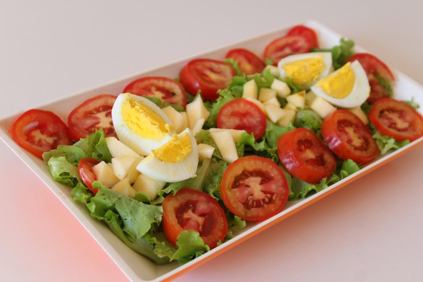 Higienizando salada