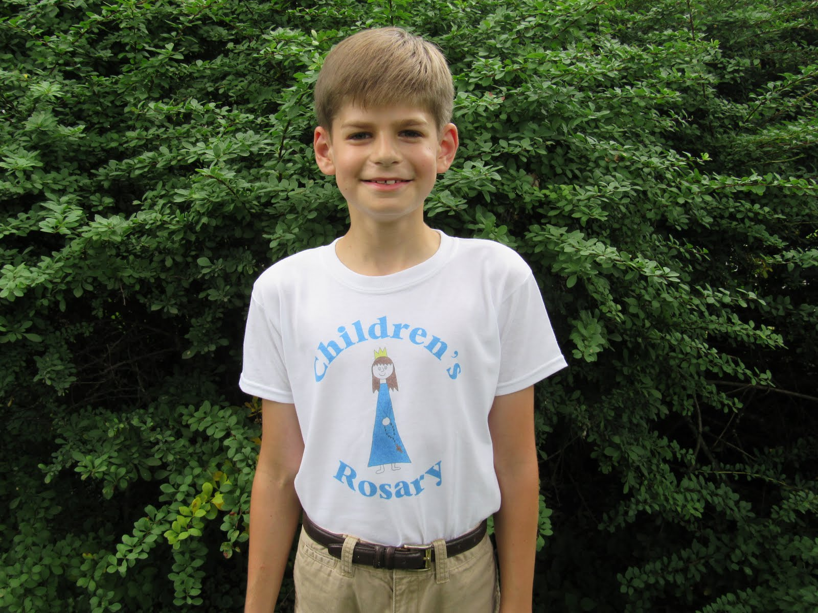 Children's Rosary T Shirts
