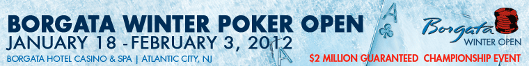 Winter Poker Open 2012