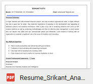 tableau developer resume sle template