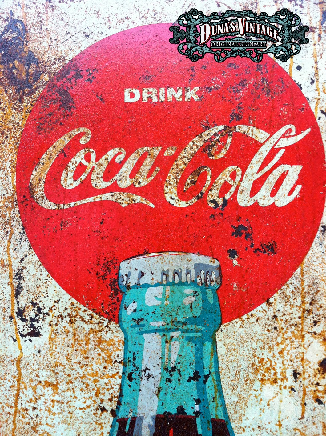 Duna s vintage coca cola better with coke duna s vintage for sale 500 - Carteles retro ...