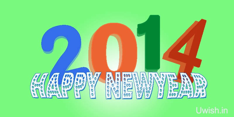Happy New year 2014 wishes and greetings. Lets welcome this New year with fresh messages and resolutions.