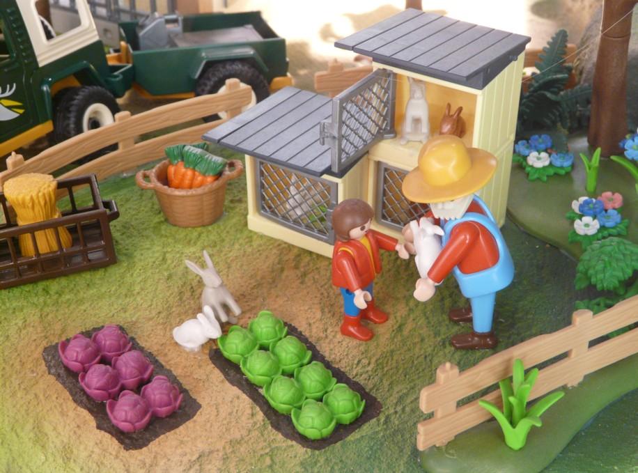 Ephémères : Les villages Playmobil