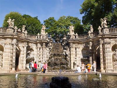 Baño de las Ninfas (Nynphenbad) en Dresde