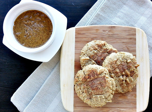 almond butter snickerdoodle
