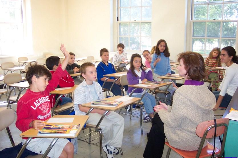 Suasana didalam kelas
