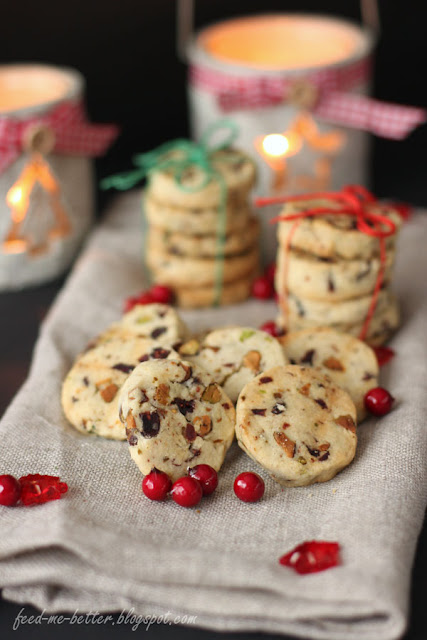 Feed Me Better: Świąteczne ciasteczka Cranberry Noel.
