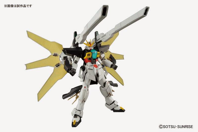 Master Grade Gundam Double X official image 00