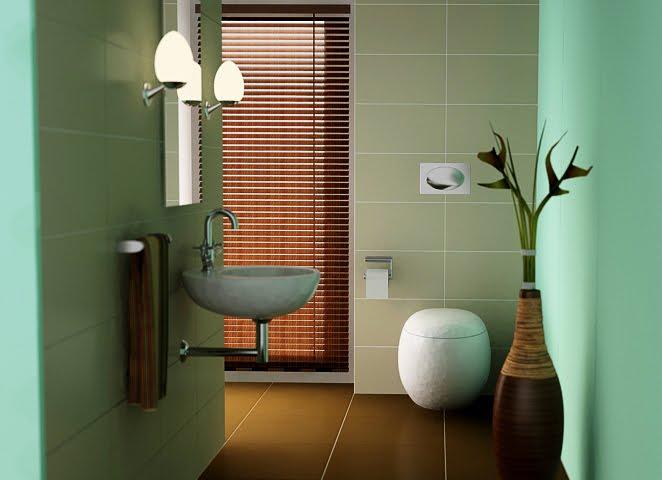 Home interior design decor bathrooms a l abode for Sea green bathroom accessories