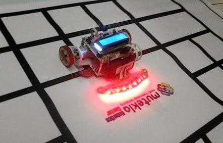 Robot Line Follower M-ROBO V.02