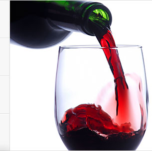 Red Wine Stays At Room Temperature