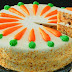 Kek Lobak Merah Krim Keju