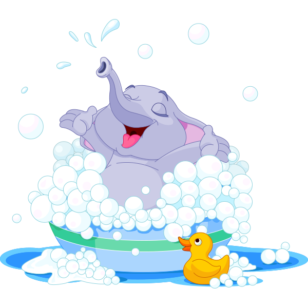 Bubble Bath Elephant