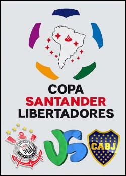 Corinthians x Boca Juniors Copa Libertadores Final HDTV AVI + RMVB