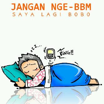 Gambar PP BBM BB Tidur