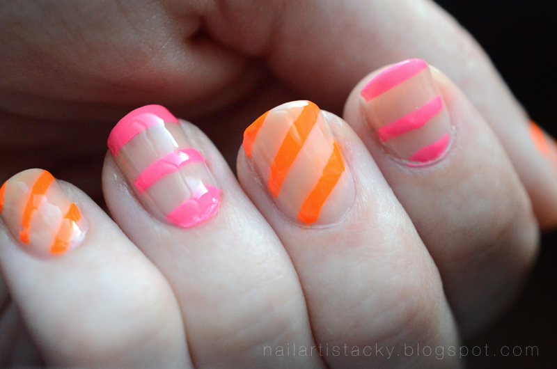 Nude & Neon Nail Polish - OCC Beta - OCC Anime