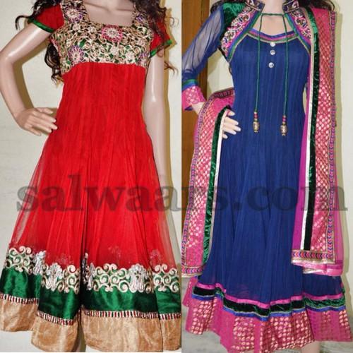 Regular Net Salwar Collection
