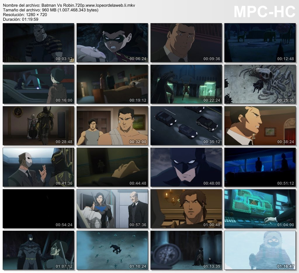Batman vs. Robin (2015) BRrip 720p Latino