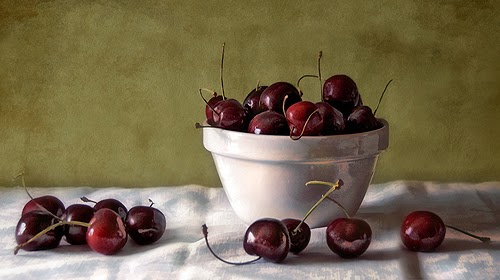 Cherries by Judy Secco