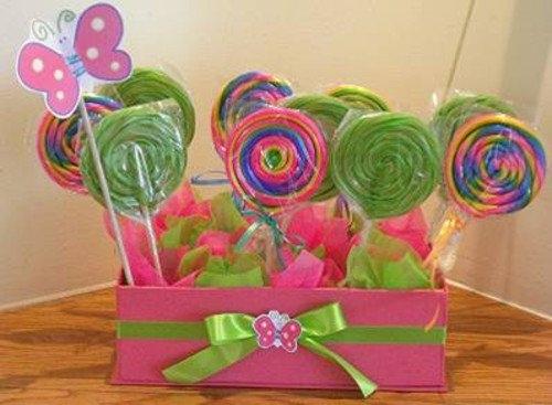 Centros de mesa con dulces parte 5 - Como hacer centros de mesa con dulces para bautizo ...