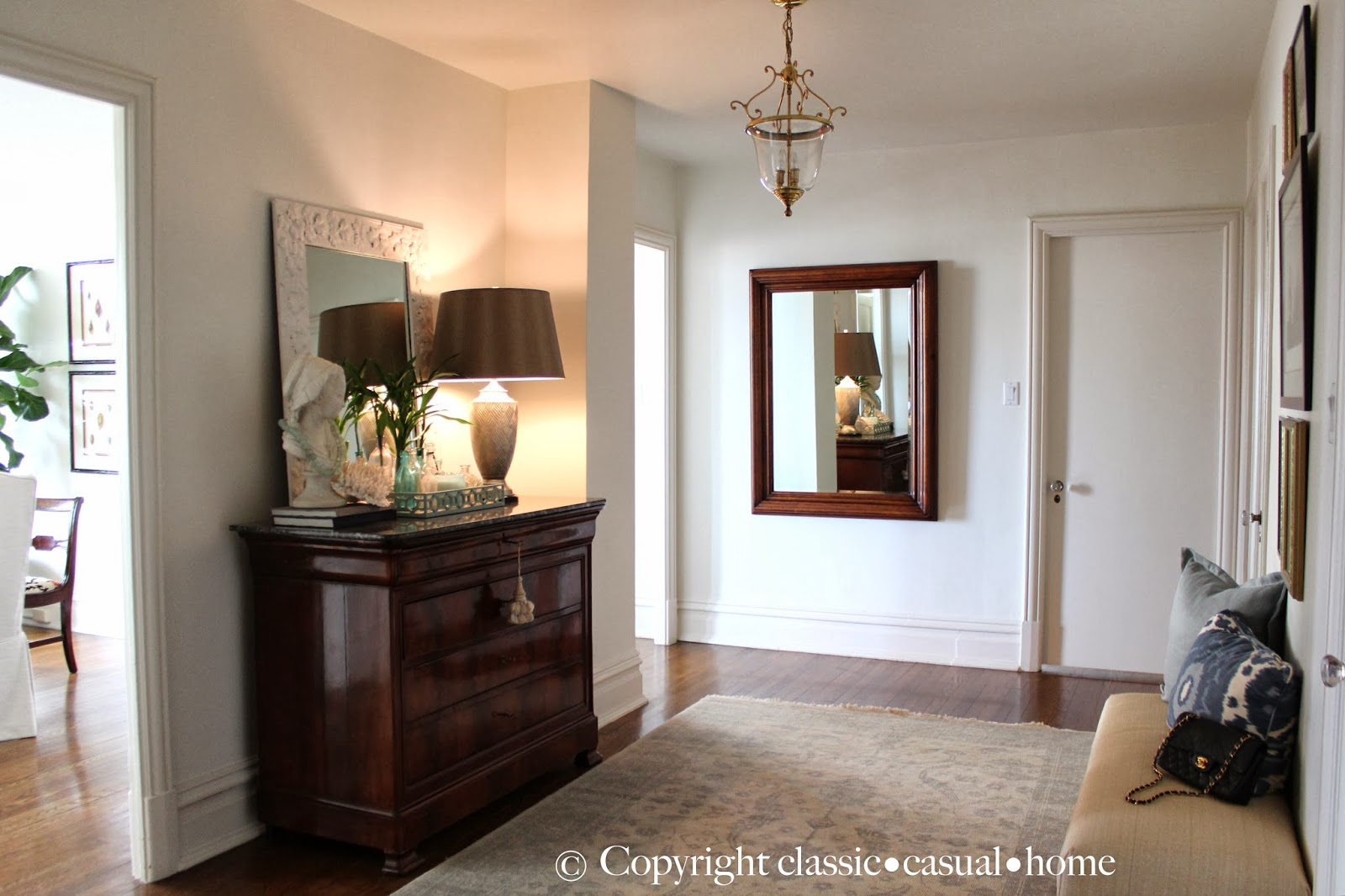 Traditional Foyer Xl : Classic casual home tour