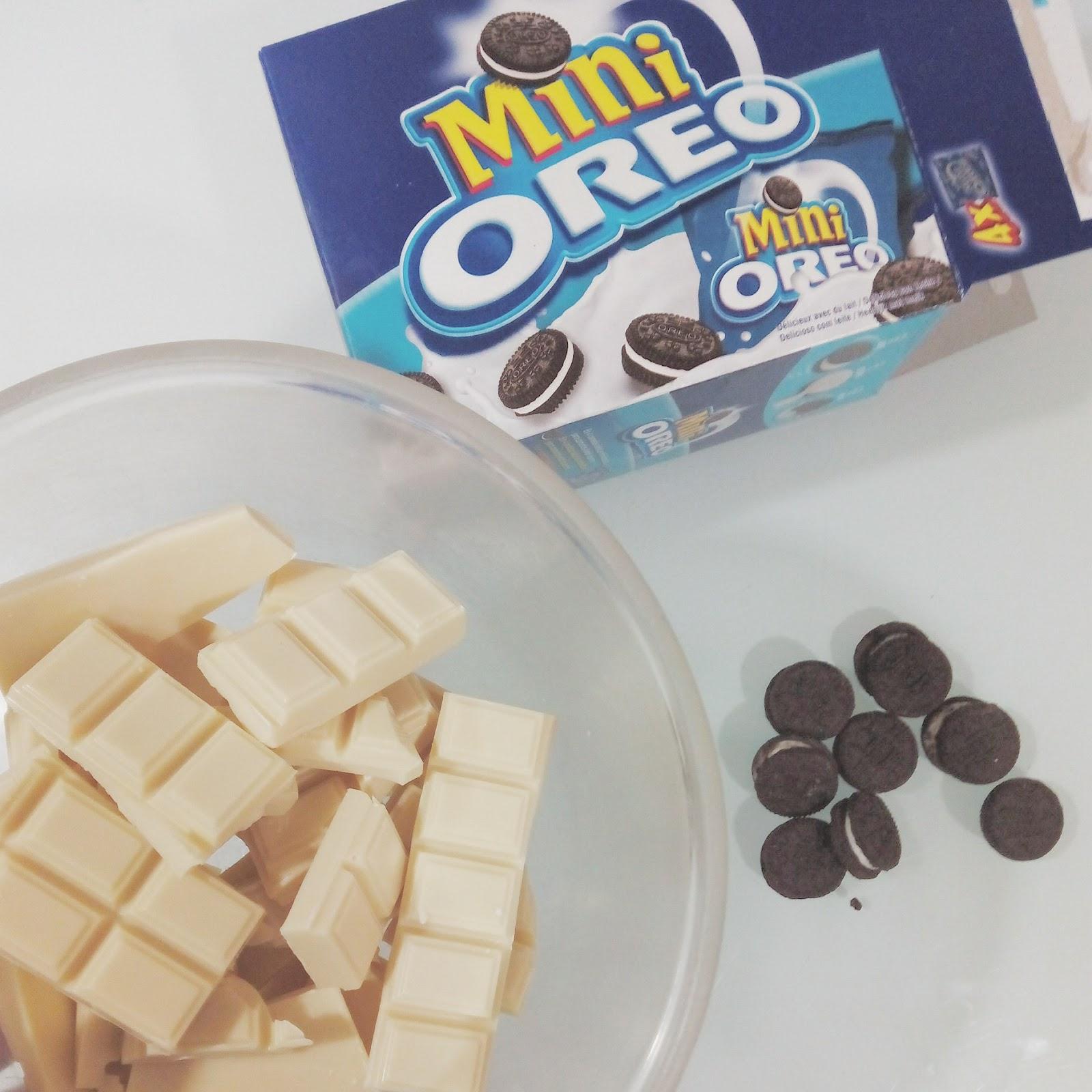 Baño Blanco Para Galletas: fáciles, manualidades y DIY: Bombones de Chocolate Blanco y Oreos