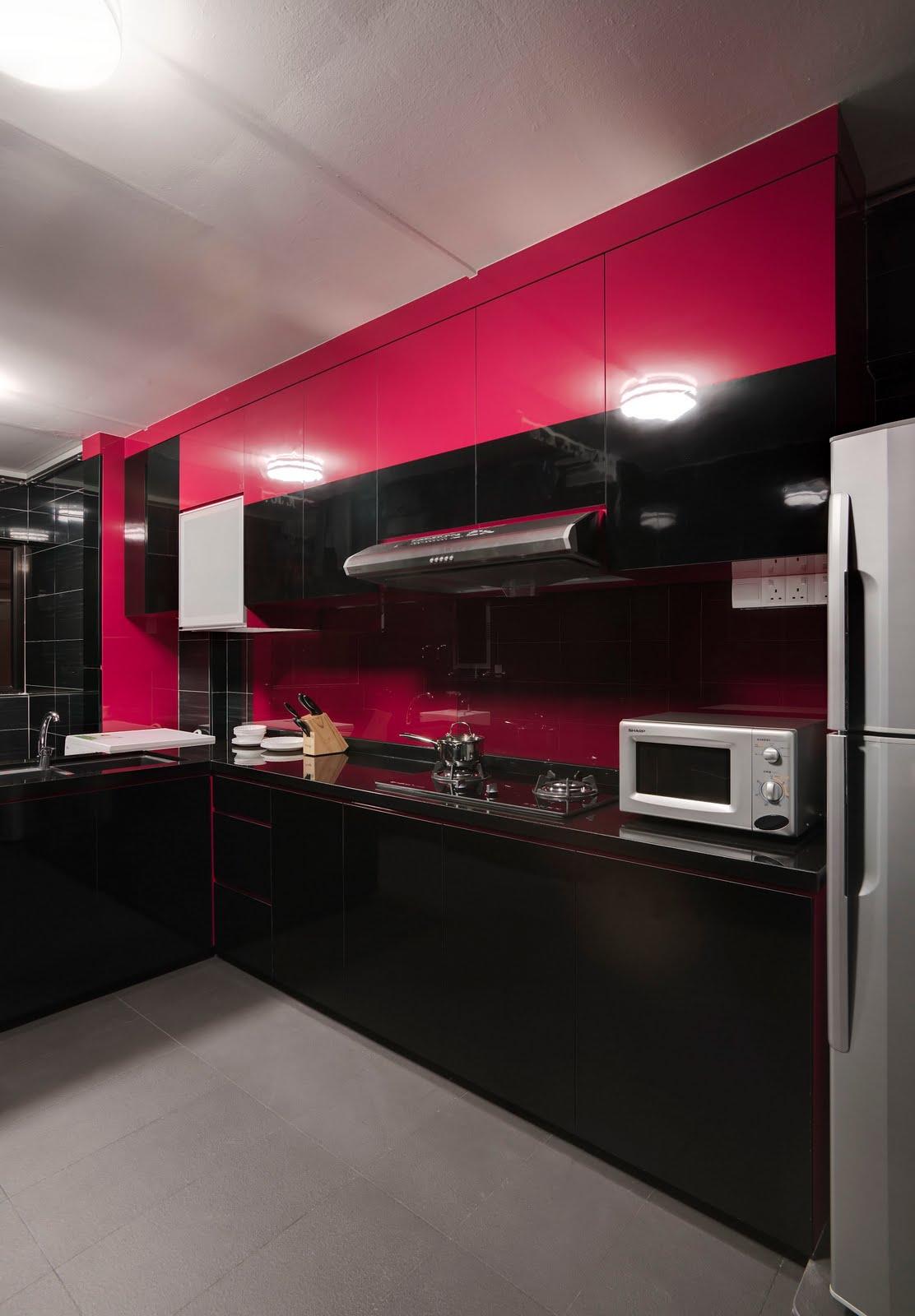 Interior Design Guide Red Black