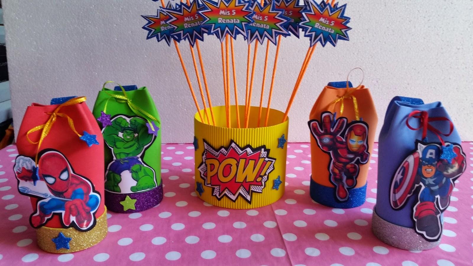 Decoraciones infantiles escuadron de superheroes for Decoraciones infantiles