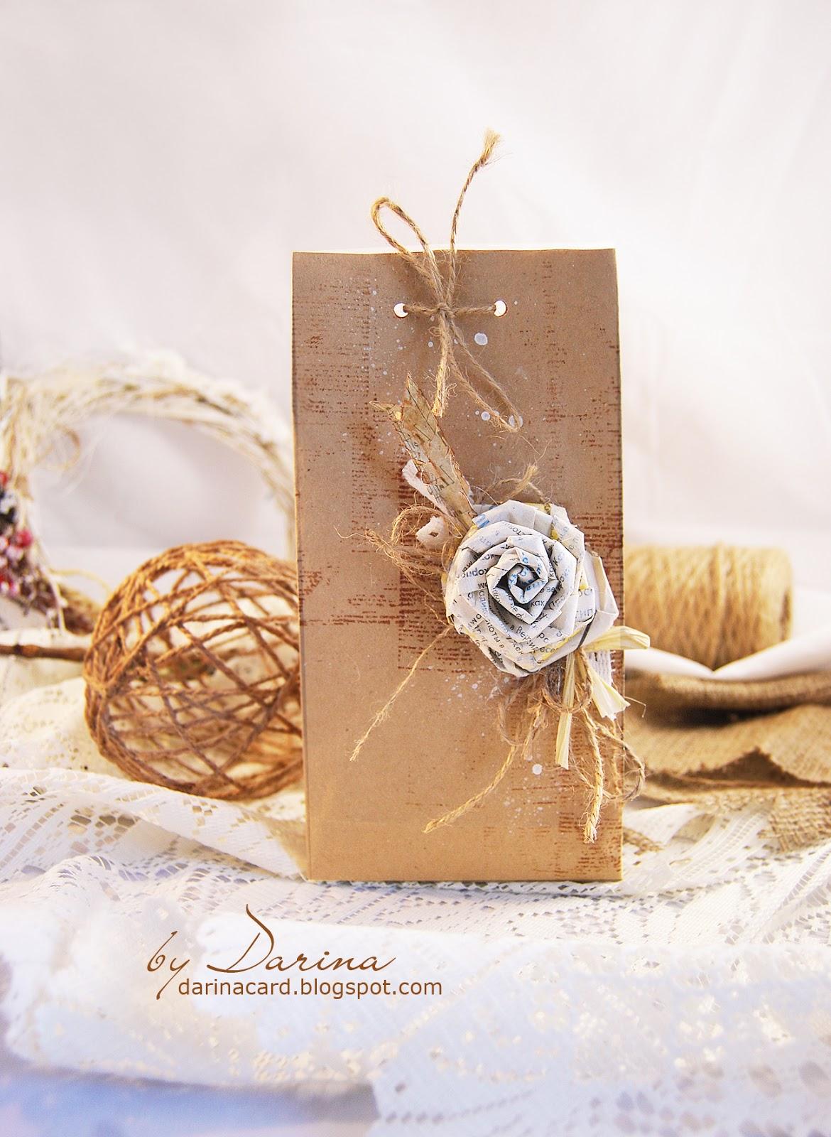 Как красиво упаковать чай в подарок своими руками