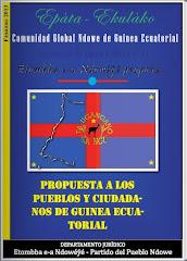 """La """"Propuesta a los Pueblos y Ciudadanos de Guinea Ecuatorial"""""""