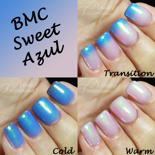 BMC Sweet Azul Swatches
