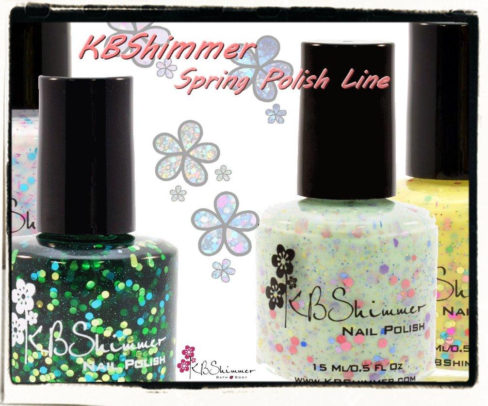 KBShimmer Spring Polish Line (PR) - Nailderella