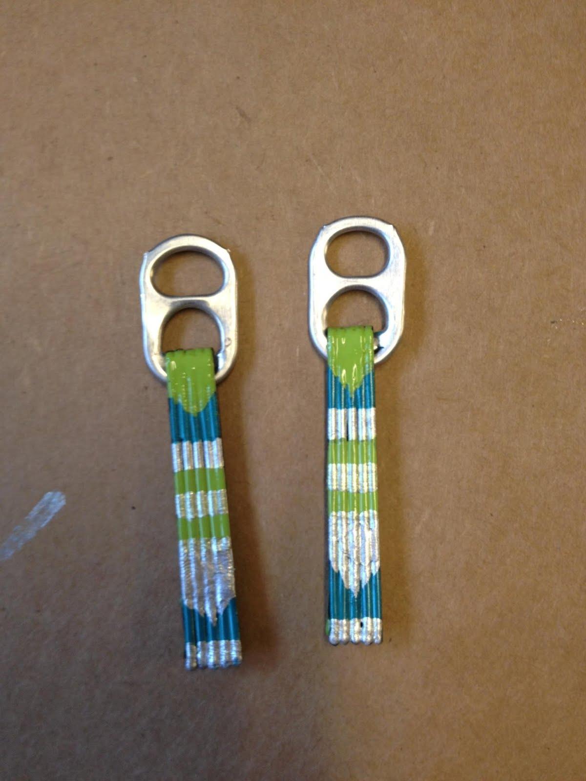 unphotoshopped: diy: bobby pin earrings