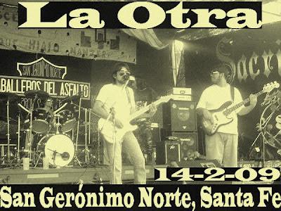 """La Otra en """"San Gerónimo Norte"""" Santa Fe Hernan buitre Deheza, nestor nex lopez"""