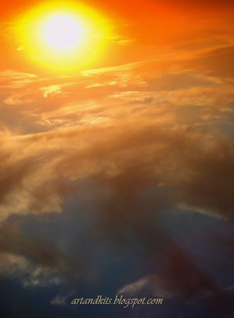 Por muitas nuvens, que possam existir no céu... elas apenas mostram que este... é muito maior!... Todas as tempestades acabam por passar!... / The more clouds, might be in the sky... the more them show, that heaven is so much greater!... All storms pass!...